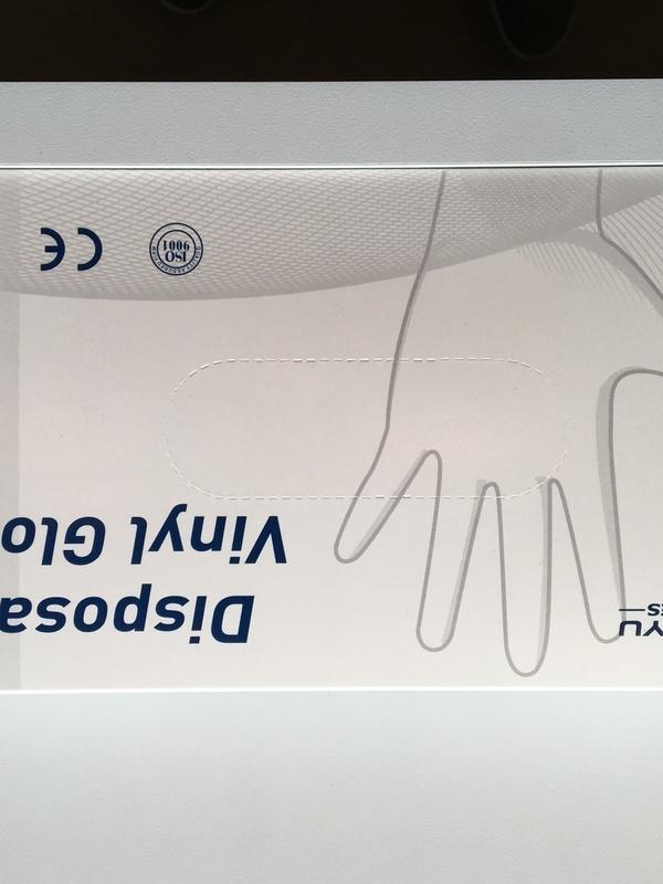 Vinyl Gloves 50 Stuks