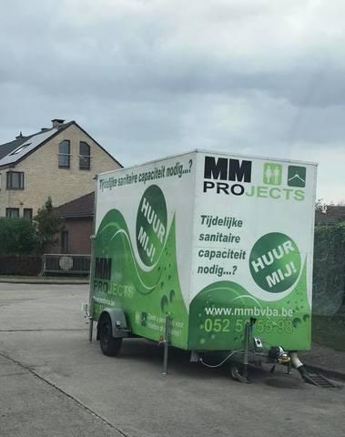 MM bvba - Toiletverhuur Kleine wagen